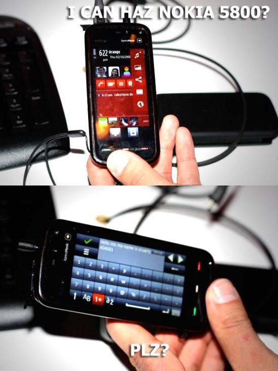 Nokia 5800 LOL